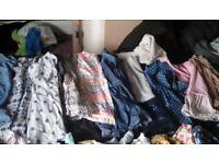 Girl 5-6 years clothing bundle. Over 70 items