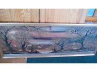 Landscape oil painting (original)