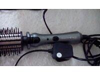 Remington rotating heated hair brush