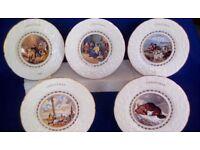 Coalport Christmas Plates
