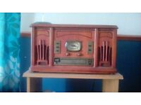 3 in 1 retro stereo system