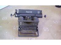 Old Imperial typewriter