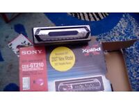 Car cd player sony