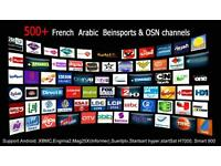 IPTV PACKAGE ALL HD CHANNELS FOR ZGEMMA, SMART TV, ANDROID, ENIGMA BOXES