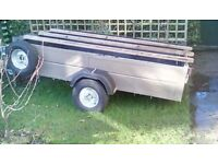 8ft x 5ft Single Axle Trailer 750kg
