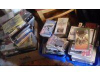 Large amount of vhs videos