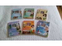 Childrens books - set of 6 historically based stories in a series.