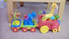 Fisher Price Amazing Animals Choo Choo Train, excellent condition.