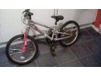 Girls apollo pure 20 inch bike