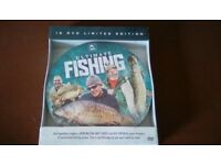 Ultimate Fishing. 10 x dvd Limited Edition