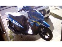 Suzuki Address 110 moto GP