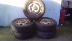 Tyres for van 5 in total *SOLD*