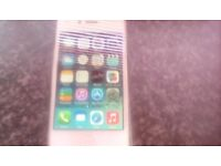 Got new phone so selling a 4,s in good condition recent battery