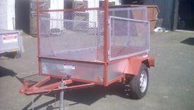 6 x 4 Gardening trailer