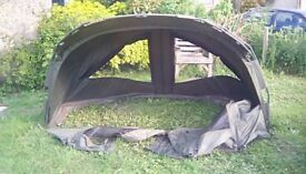 Jrc bivvy as new only used adout6 times with grand sheet