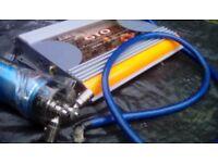 Jbl amp with farad power capasitor