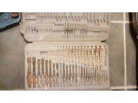 Drill bits 2 sets