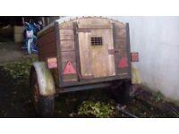 Dog trailer