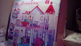 Dolls house/Steffi/similar to Barbie type, brand new.