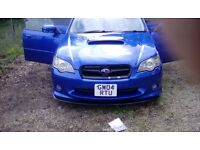 Subaru legacy wr ltd 2004 twin scrool turbo semi automatic