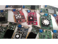 Nvidia & ATI Radeon (Various) - AGP Graphics Cards (Win 7, Win XP, Vista)
