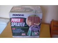 RONSEAL POWER SPRAYER CORDLESS, NEW, BOXED
