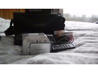Sony camcorder in mint condition