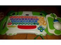 V-tech children's computer with games