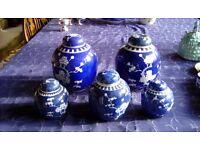 Set of Ginger Jars