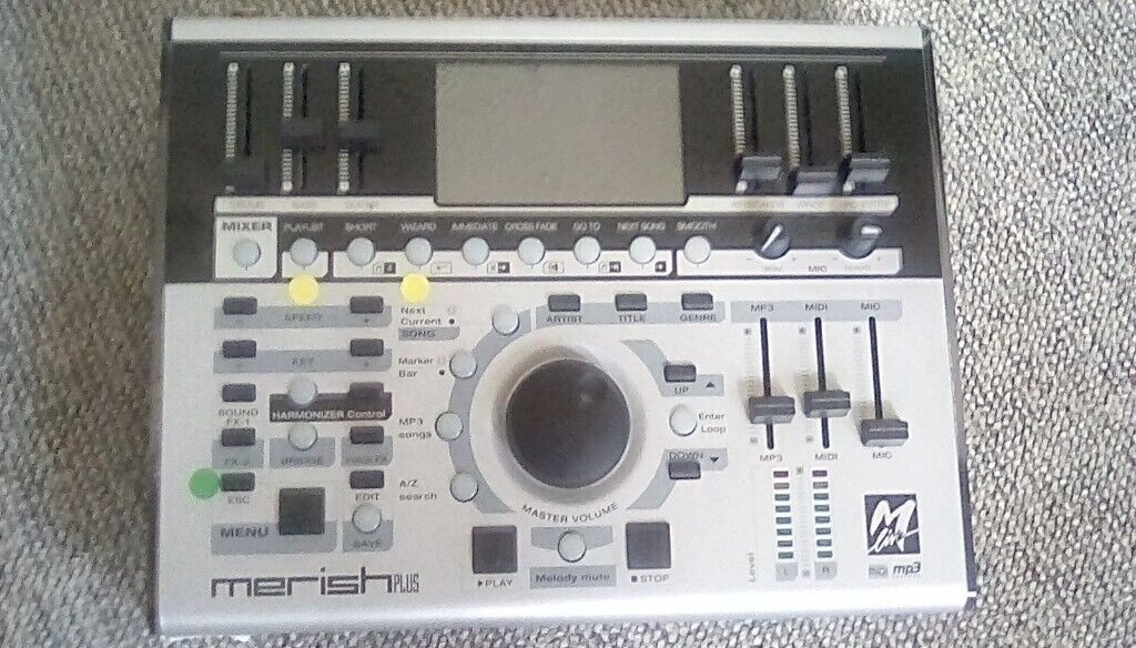 Merish Pus backing track player ideal for singer or lone musician for gigs  | in Harwich, Essex | Gumtree