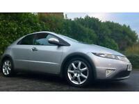 2007 HONDA CIVIC EX I-CTDI 2.2 140 BHP 6 SPEED 120000 MILES MOT 22.9.18 MINT DRIVE 6 MONTHS WARRANTY