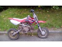110 pitbike for sale..!!