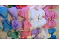 Gorgeous hair bows (new) Postage available.