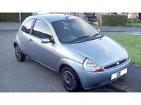 IDEAL LEANER/NEW DRIVER CAR 2007 FORD KA ACTIVE 1.2 PETROL MANUAL MOT 12/18 DRIVE AWAY BARGAIN £595