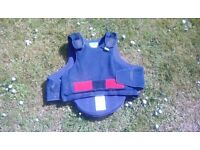 Kids horse riding body protector
