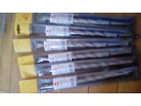 Masonary drills 16ml sds brand new 6 to sell