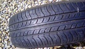 Car Tyre/spare wheel 165/70/r13