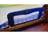 Bed Guard in blue