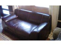 New sofa and armchair