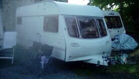 Avondale Ulysses 5 berth caravan with starter kit