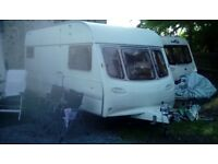 Avondale Ulysses 5 berth caravan with starter kit