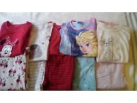 Girls pyjama bundle age 8-9 years