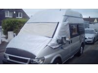 Silver screens, Taylormade, Ford Transit. 2005.