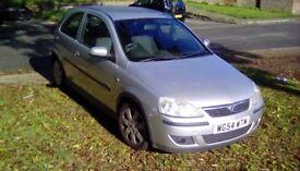 2005 Vauxhall Corsa Sxi for sale.