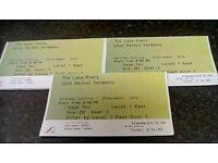 Three tickets for The Lake Poets & Rachel Sermanni at The Sage Gateshead 3rd December