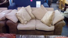 2 x Two Seater Sofas #30485 £275