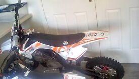 MXR 140cc slam pit bike for sale mint condition.