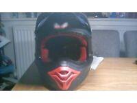 Mountain bike full face helmet