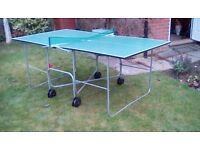 Cornillieau Table tennis table perfect for all abilities.
