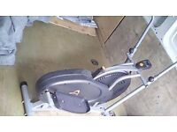 Cross trainer, virtually new.